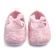 RONI Baby soft-soled  shoe princess shoe girl non-skid toddler shoe 01 11