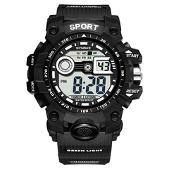 RONI Men multifunctional sports electronic watch  waterproof night light watch 01 All code
