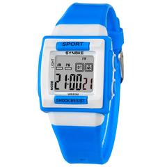 RONI Boy fashion sports electronic watch girl  waterproof night light watch student gift 01 all code