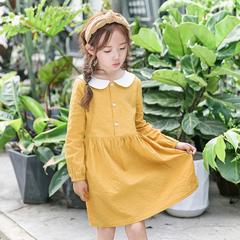 RONI 2018 New girl 100% cotton clothes kids cute dress 01 3-4/110cm