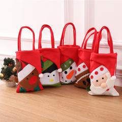 RONI 5pcs Christmas bag Christmas decorations Christmas Eve gift bag candy gift bag 01 All code