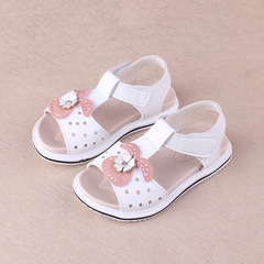 RONI 2018 Summer New Girl Beach Shoes Kids  Princess Shoes Baby Sandals 01 21