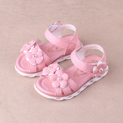 RONI 2018 Summer New Girl Beach Shoes Kids Flower  Princess Shoes Baby Sandals 01 22