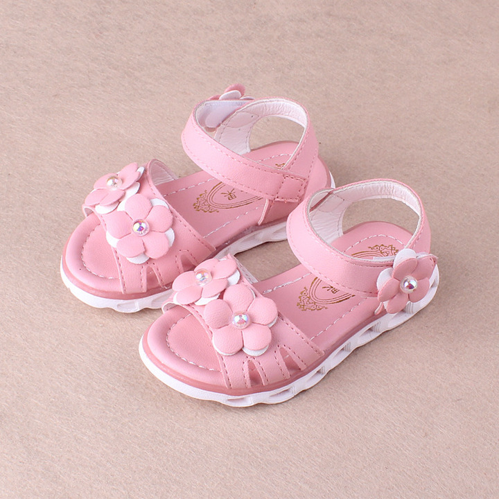 ee530e51098d89 RONI 2018 Summer New Girl Beach Shoes Kids Flower Princess Shoes Baby  Sandals 01 22