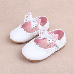 2018 Spring kids cute bow knot  shoes lace princess shoe girl baby walking shoes 02 15