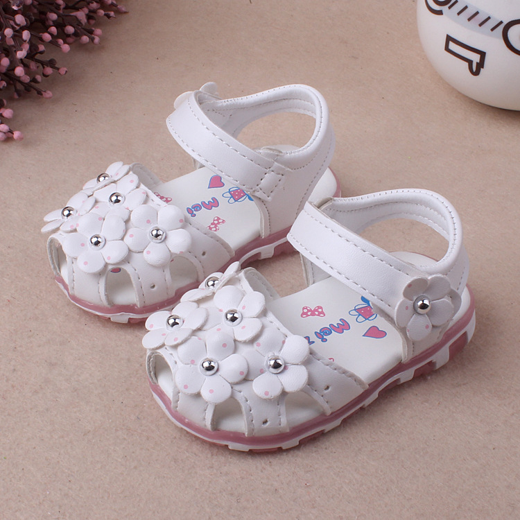 6ba0241a467892 RONI Summer girl sandal glowing walking shoes baby cute flower princess  shoes 01 15  Product No  8078801. Item specifics  Brand