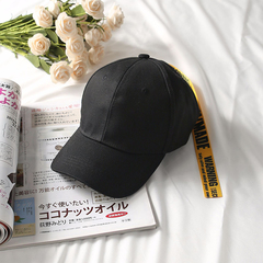 RONI 2018 Summer Couples Baseball Hat Men Letter Hat Women Sunshade Hat yellow all code