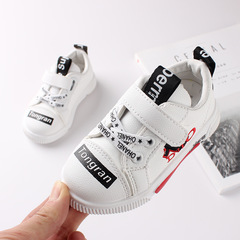 RONI 2019 New baby boy fashion  board shoes kids casual shoes white shoes 01 22