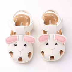 RONI 2019 Summer girls cute  cartoon sandals baby non-slip soft bottom shoes princess shoes 02 18