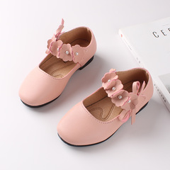 RONI 2019 Spring girls fashion leather shoes sweet flower princess shoes 01 26