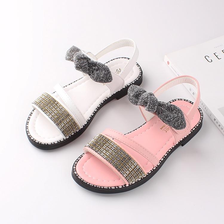 b4d6a4458d8 RONI 2019 Summer New Girl Beach Shoes Kids Princess Shoes Baby ...