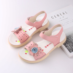 RONI 2019 Summer New Girl Beach Shoes Kids Flower  Princess Shoes Baby Sandals 01 34
