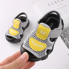 RONI 2019 Summer boys  sandals baby non-slip soft bottom shoes kids beach shoes 01 17