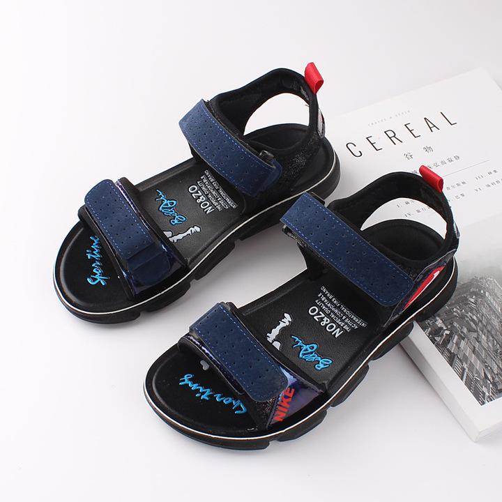 RONI 2019 Summer New Boy Beach Shoes Kids Fashion Casual Sandals 01 26