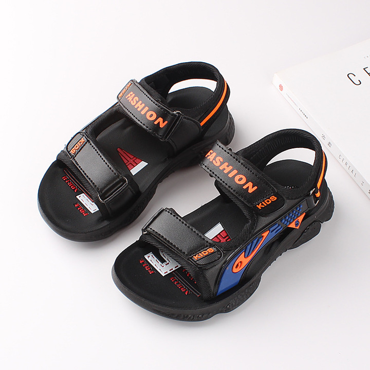 RONI 2019 Summer New Boy Beach Shoes Kids Fashion Casual Sandals Students Shoes 01 27