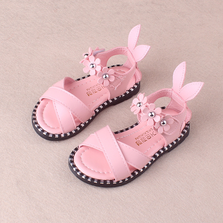 42b49321bbd RONI 2018 Summer New Girl Beach Shoes Kids Flower Princess Shoes Baby  Sandals 01 22  Product No  8076171. Item specifics  Brand