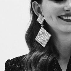 RONI Ladies Ladies luxury diamond earrings women dress accessories 01 all code