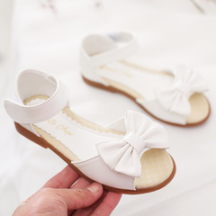 RONI 2019 Summer New Girl Beach Shoes Kids Bowknot Princess Shoes Baby Sandals 02 28