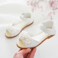 RONI 2019 Summer New Girl Beach Shoes Kids Sweet Pearl Princess Shoes Baby Sandals 01 26