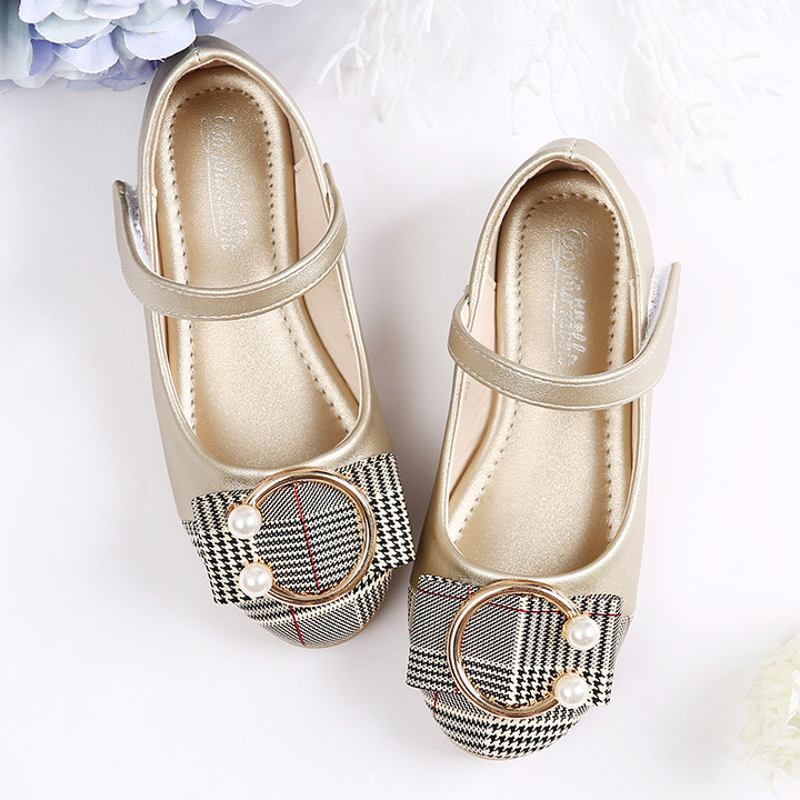 RONI 2019 Baby girl elegant princess  shoes kids wedding dress shoes students delicate leather shoes 01 34