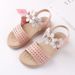 RONI 2019 Summer New Girl Flower Beach Shoes Kids Princess Shoes Baby Sandals 01 26