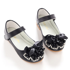 RONI 2019 Baby girl diamond princess shoes kids formal dress shoes students delicate leather shoes 01 26