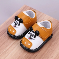 RONI Spring baby girl walking shoes boys leather shoes soft-roled shoes 01 15