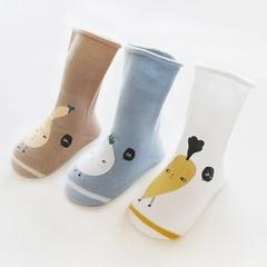 RONI 3Pairs 2019 Spring New Baby Boy Cotton Socks Girls Lovely Socks 01 xs