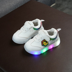 RONI 2019 Spring Baby boy cute light board shoes casual shoes girl kids LED flash sneakers 01 21