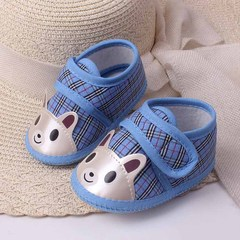 RONI Spring and autumn baby girl cartoon non-slip walking shoes boy soft-soled shoe 01 11