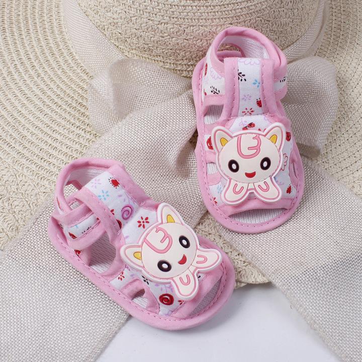 RONI Summer baby girl cartoon non-slip walking shoes boy soft-soled shoe 01 11