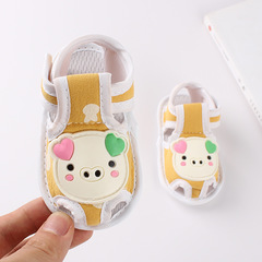 RONI Summer baby girl lovely non-slip walking shoes boy soft-soled shoe 01 11