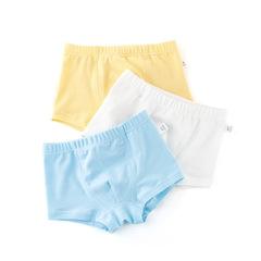RONI 3pcs Baby boy 100% cotton underwear kids pure color briefs