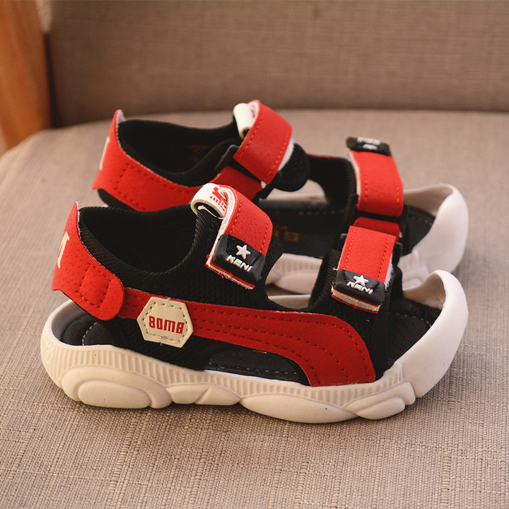 RONI 2019 Summer New Boy Safe Beach Shoes Kids Fashion Casual Sandals Students Shoes 01 21
