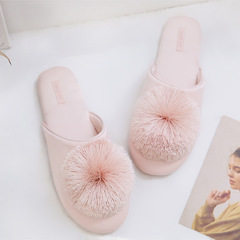 RONI Spring lady lovely non-slip waterproof comfortable home slippers 01 36-37