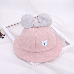 RONI 2019 Spring baby girl cute cartoon  hat kids sunshade hats 01 all code