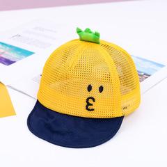 RONI 2019 Summer baby girl cute cartoon net hat boy sunshade hats 01