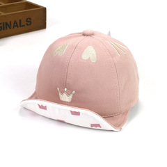 RONI 2019 Spring baby girl sweet love  hat boy sunshade hats kids  baseball hat 01 all code
