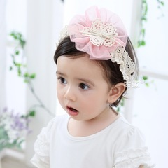 RONI Baby sweet flower hairband girl headdress 01