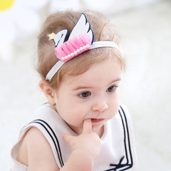 RONI Baby lovely  swan headdress girl headdress 01