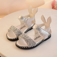 RONI Summer girls fashion sandals princess shoes  diamond shoes 01 21