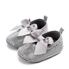 RONI Spring baby fashion non-skid walking shoes  girl  diamond princess shoes 01 11