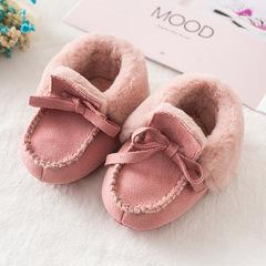 RONI Winter Baby Girl Thick Warm Walking Shoes  Boy Fashion Velvet Shoes 01 12