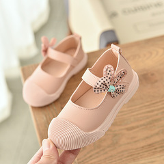 RONI New girl PU casual shoes sweet princess shoes 01 25(15.5cm)