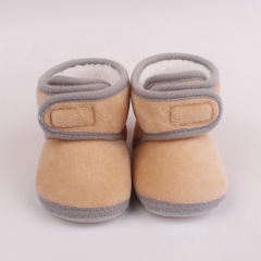 RONI Winter  baby girl  velvet thick cotton shoes boy anti-fall shoes warm shoes 06 13(12cm)