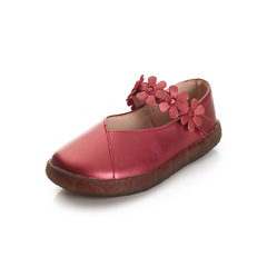RONI Girls real leather shoes baby princess shoes kids soft-soled shoes students casual shoes 01 26(16.9cm)