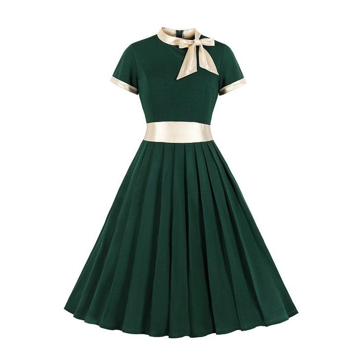 RONI Hot sale women clothes lady strap dress large size short sleeve dress office dress party dress 4xl 01