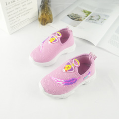 RONI Autumn New boy soft-soled shoes girl fashion breathable  woven shoes girls baby shoes sneakers 01 22(13.5cm)