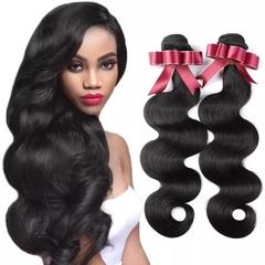 RONI 1Bundle 9A Brazilian body wave human hair virgin remy lady natural lady natural wigs natural  black 8inch