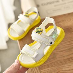 RONI Girls sandals princess shoes baby shoes kids beach shoes, boys' casual shoes 01 21(13.5cm)